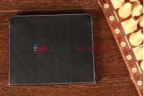 Чехол-обложка для Explay sQuad 9.72 3G черный кожаный
