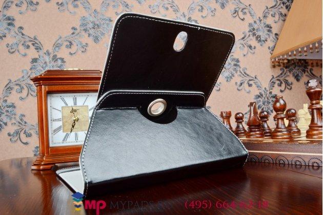 Чехол с вырезом под камеру для планшета Explay D7.2 3G роторный оборотный поворотный. цвет в ассортименте