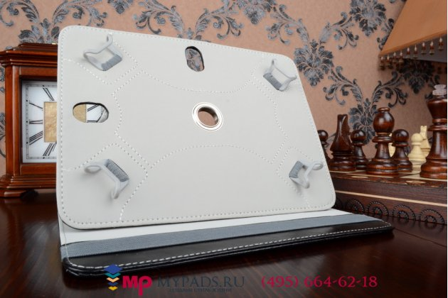 Чехол с вырезом под камеру для планшета Explay Leader роторный оборотный поворотный. цвет в ассортименте