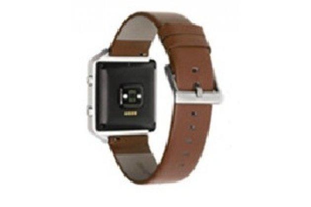 Фирменный сменный кожаный ремешок для умных смарт-часов Fitbit Blaze из качественной импортной кожи