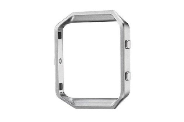 Фирменный оригинальный металлический каркас-ободок-бампер  для умного фитнес-браслета Fitbit Blaze