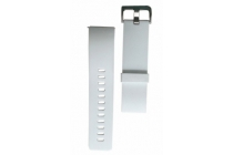 Фирменный необычный сменный силиконовый ремешок БЕЗ РАМКИ для умных смарт-часов Fitbit Blaze разноцветный