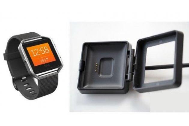 Фирменное оригинальное USB-зарядное устройство/док-станция для фитнес-браслета Fitbit Blaze + гарантия