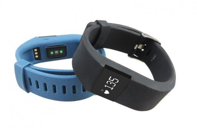 Фирменный оригинальный спортивный умный смарт-фитнес браслет Fitbit Charge HR + гарантия (техническая упаковка)
