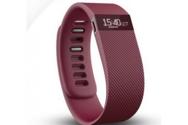 Фирменный необычный сменный силиконовый ремешок размер S для фитнес-браслета Fitbit Charge разноцветный