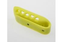 Фирменный сменный силиконовая клипса-крепеж для фитнес-браслета Fitbit One разноцветный