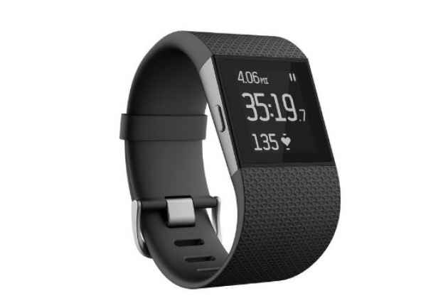 Фирменная оригинальная защитная пленка для умных смарт-часов Fitbit Surge глянцевая