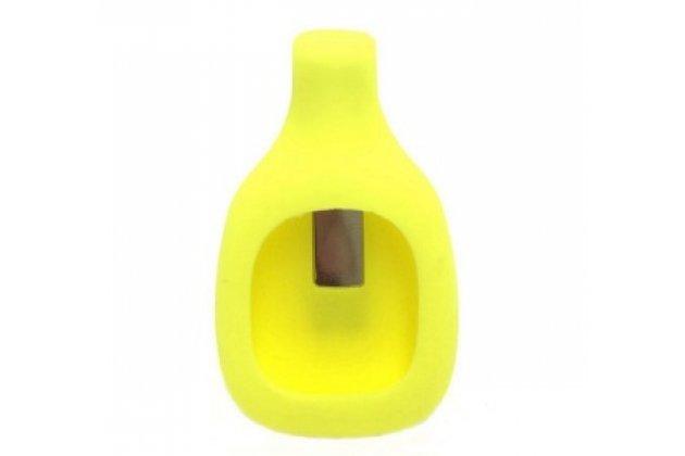Фирменный сменный силиконовая клипса-крепеж для фитнес-браслета Fitbit Zip разноцветный