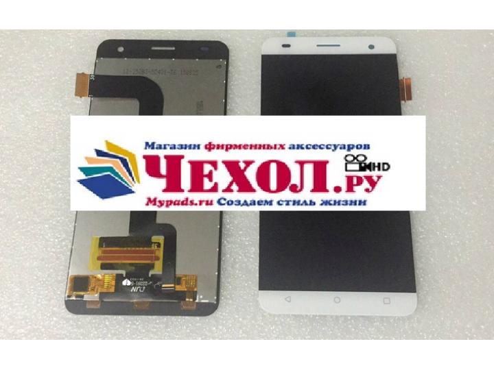 Фирменный LCD-ЖК-сенсорный дисплей-экран-стекло с тачскрином на телефон Fly Cirrus 2 (FS504) белый + гарантия..