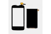 """Фирменное LCD-ЖК-экран-сенсорное стекло-тачскрин для телефона Fly IQ4407 ERA Nano 7"""" черный и инструменты для вскрытия + гарантия"""