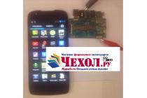 Фирменное LCD-ЖК-экран-сенсорное стекло-тачскрин для телефона Fly IQ4405 EVO Chiс 1 черный и инструменты для вскрытия + гарантия