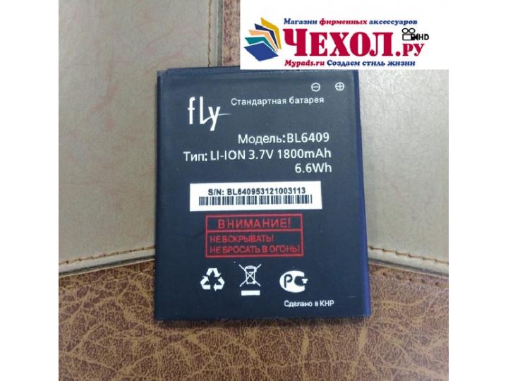 Фирменная аккумуляторная батарея BL6409 1800mAh на телефон Fly IQ4406 ERA Nano 6