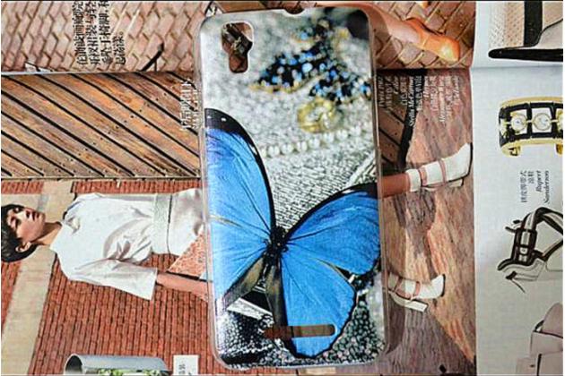 """Фирменная роскошная задняя панель-чехол-накладка с безумно красивым рисунком для Fly IQ4414 EVO Tech 3 Quad """"тематика Бабочка"""""""