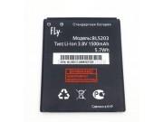 Фирменная аккумуляторная батарея 1500mAh BL5203 на телефон Fly IQ442 Quad Miracle 2 + гарантия..