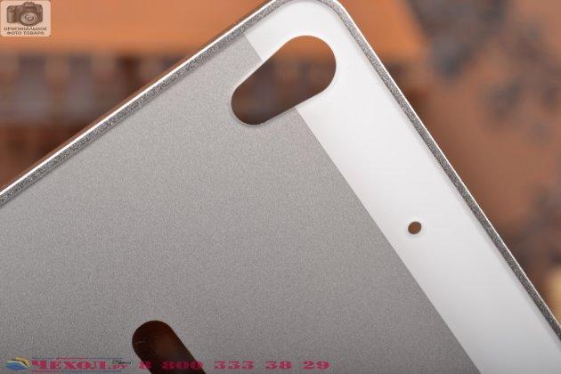 Фирменная металлическая задняя панель-крышка-накладка из тончайшего облегченного авиационного алюминия для Fly IQ4516 Tornado Slim Octa серебристая