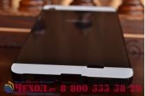 Фирменная металлическая задняя панель-крышка-накладка из тончайшего облегченного авиационного алюминия для Fly IQ4516 Tornado Slim Octa черная