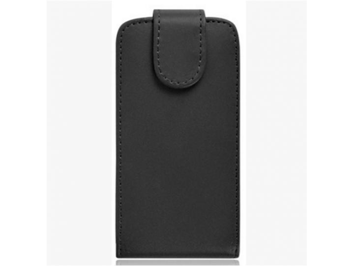 Фирменный вертикальный откидной чехол-флип для Fly IQ454 EVO Tech 1