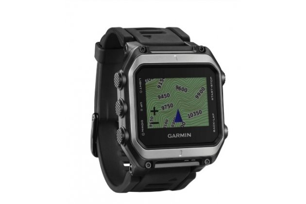 Фирменная оригинальная защитная пленка для умных-смарт часов Garmin Epix глянцевая
