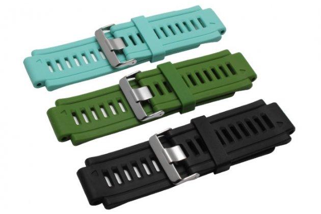 Фирменный необычный сменный силиконовый ремешок  для умных смарт-часов Garmin Epix разноцветный + инструменты для вскрытия