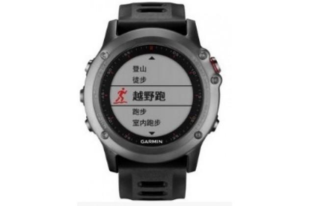 Фирменная оригинальная защитная пленка для умных смарт-часов Garmin Fenix 3/Fenix 3 HR/HRM глянцевая
