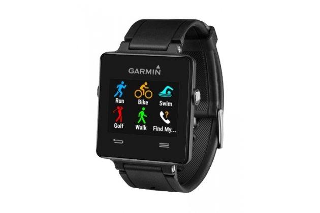 Фирменная оригинальная защитная пленка для умных-смарт часов Garmin vivoactive HRM/HR глянцевая