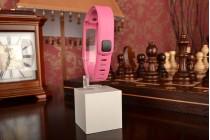 Фирменный необычный сменный силиконовый ремешок  для фитнес-браслета Garmin vivofit 2  разноцветный