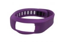 Фирменный необычный сменный силиконовый ремешок  для фитнес-браслета Garmin vivosmart разноцветный