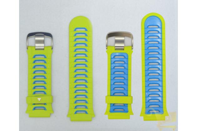 Фирменный необычный сменный силиконовый ремешок для умных смарт-часов Garmin Forerunner 920/ 920XT разноцветный + инструменты для вскрытия