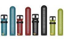 Фирменный сменный силиконовый ремешок для умных смарт-часов Garmin Fenix 3/Fenix 3 HR/HRM разноцветный + инструменты для вскрытия