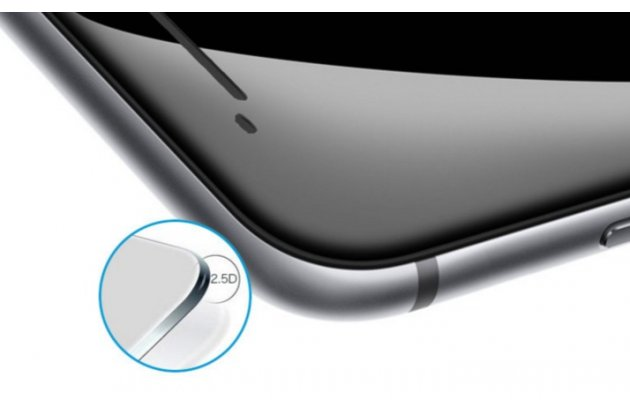 """Фирменное защитное противоударное стекло которое полностью закрывает экран / дисплей по краям из качественного японского материала с олеофобным покрытием для телефона HTC One A9/HTC Aero/HTC A9w 5.0"""" с защитой сенсорных кнопок и камеры"""