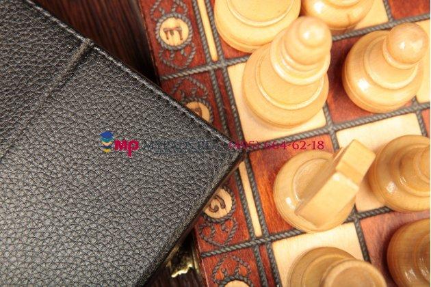 Чехол-обложка для Globex GU1011C кожаный цвет в ассортименте