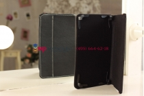 Чехол-обложка для Gmini MagicPad H807S черный кожаный
