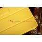 Фирменный чехол-обложка для Asus Nexus 7 II 2 поколения 2013 SLIM желтый кожаный..