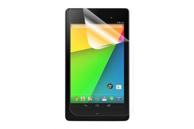 Фирменная защитная пленка для Asus Nexus 7 II 2 поколения 2013 глянцевая