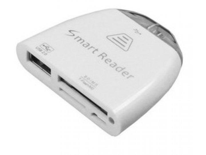 USB-переходник + карт-ридер для Asus Google Nexus 8..