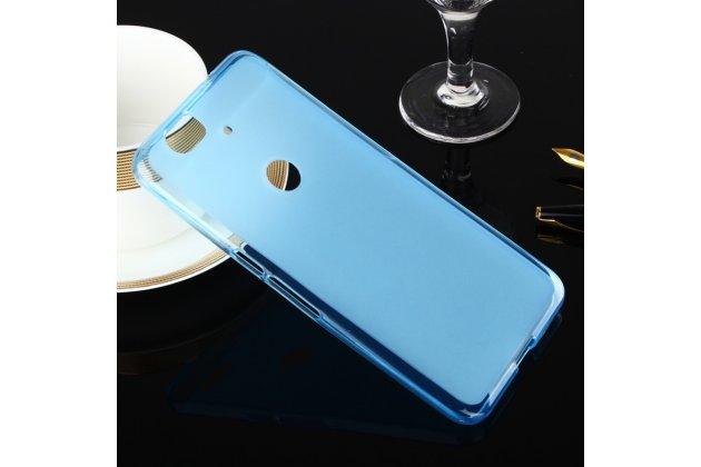 Фирменная ультра-тонкая полимерная из мягкого качественного силикона задняя панель-чехол-накладка для Huawei Google Nexus 6P голубая