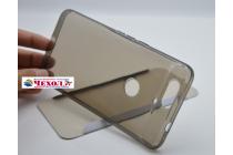 Фирменная ультра-тонкая полимерная из мягкого качественного силикона задняя панель-чехол-накладка для Huawei Google Nexus 6P черная