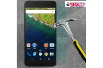 Фирменное защитное закалённое противоударное стекло премиум-класса из качественного японского материала с олеофобным покрытием для Huawei Google Nexus 6P