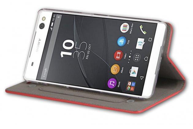 """Фирменный премиальный элитный чехол-книжка из качественной импортной кожи с мульти-подставкой и визитницей для LG Google Nexus 5X 5.2"""" """"Ретро"""" коричневый"""