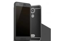 Фирменная металлическая задняя панель-крышка-накладка из тончайшего облегченного авиационного алюминия для LG Google Nexus 5X черная