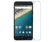 Фирменная оригинальная защитная пленка для телефона LG Google Nexus 5X  глянцевая..