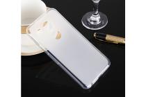 """Фирменная ультра-тонкая полимерная из мягкого качественного силикона задняя панель-чехол-накладка для  LG Google Nexus 5X 5.2"""" белая"""