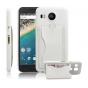 Фирменная роскошная элитная премиальная задняя панель-крышка для LG Google Nexus 5X из качественной кожи буйво..