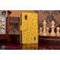 Чехол-защитный кожух для LG Google Nexus 4 E960 леопардовый желтый..