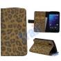 Чехол-защитный кожух для LG Google Nexus 4 E960 леопардовый коричневый..