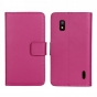 Фирменный чехол-книжка с подставкой для LG Google Nexus 4 E960 фиолетовый..