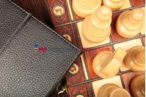 Чехол-обложка для Samsung Google Nexus 11 черный кожаный