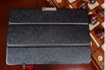 """Фирменный умный чехол самый тонкий в мире для HTC Google Nexus 9  """"Il Sottile"""" черный пластиковый"""