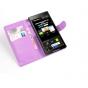 Фирменный чехол-книжка из качественной импортной кожи с подставкой застёжкой и визитницей для BlackBerry Z3 фи..