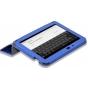 Фирменный оригинальный чехол-обложка для HP SlateBook x2 черный кожаный